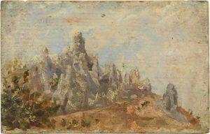 Picasso The false mountains of Montserrat