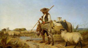 richard_ansdell_-_a_spanish_shepherd_1863
